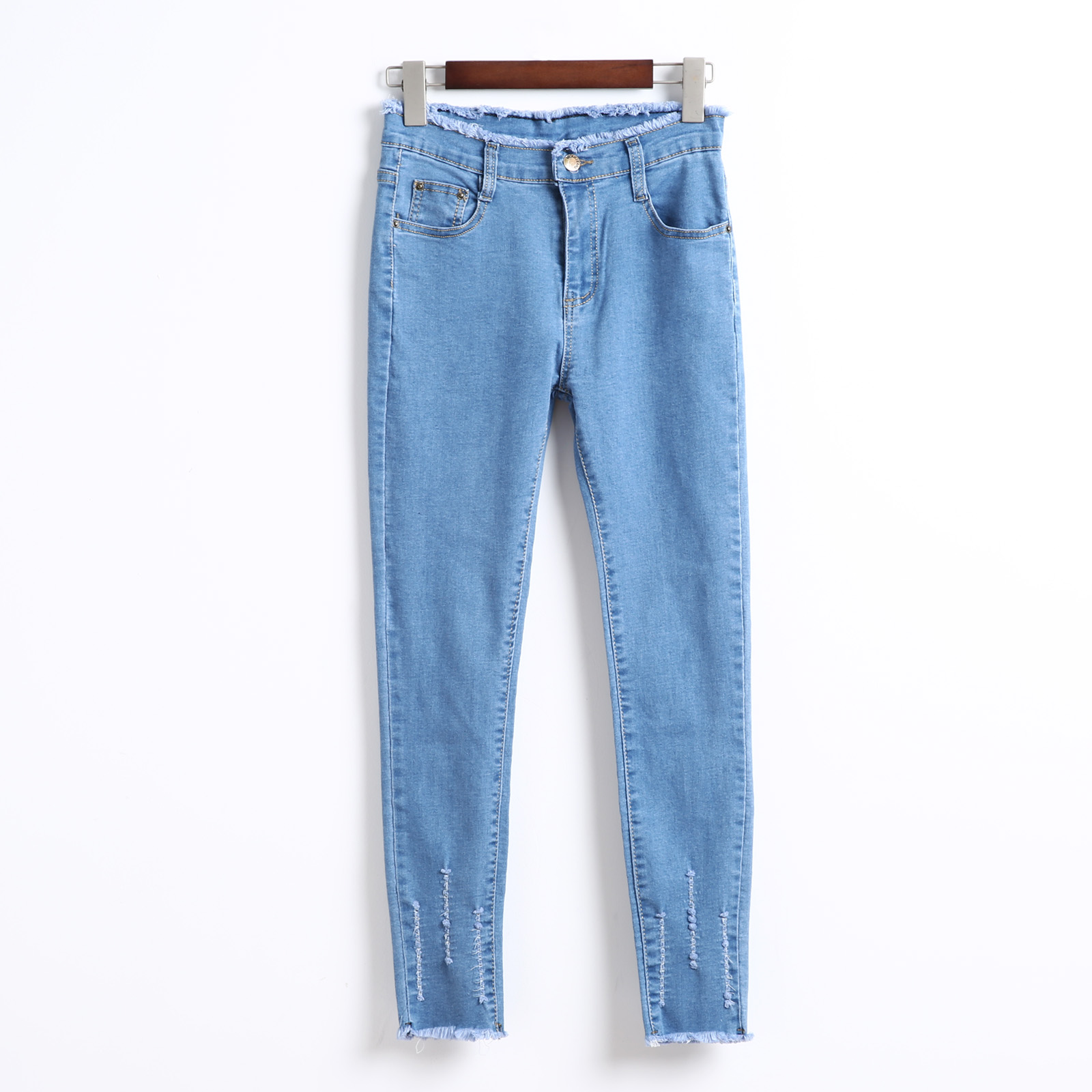 E40CK2217春季新款牛仔裤2019