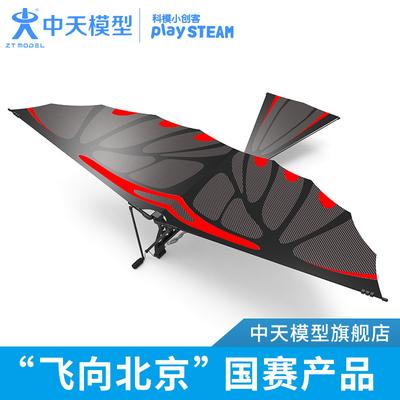 中天模型 飞机玩具鲁班鸟 儿童户外玩具大飞鸟竹鸢鸳仿生鸟扑翼机