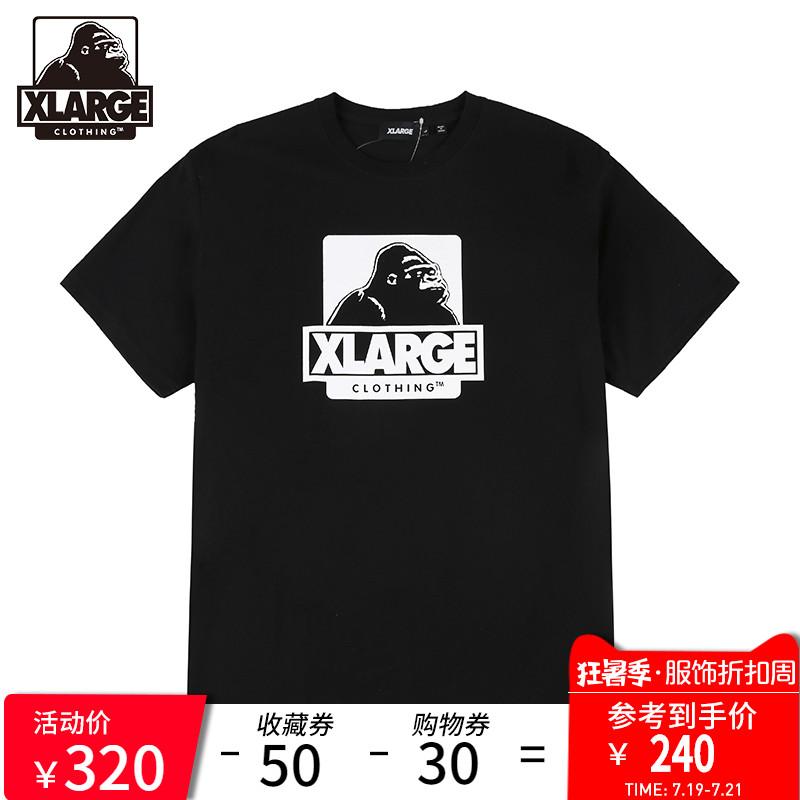 XLARGE 潮流男装 19年春季新品 潮流时尚印花短袖T恤