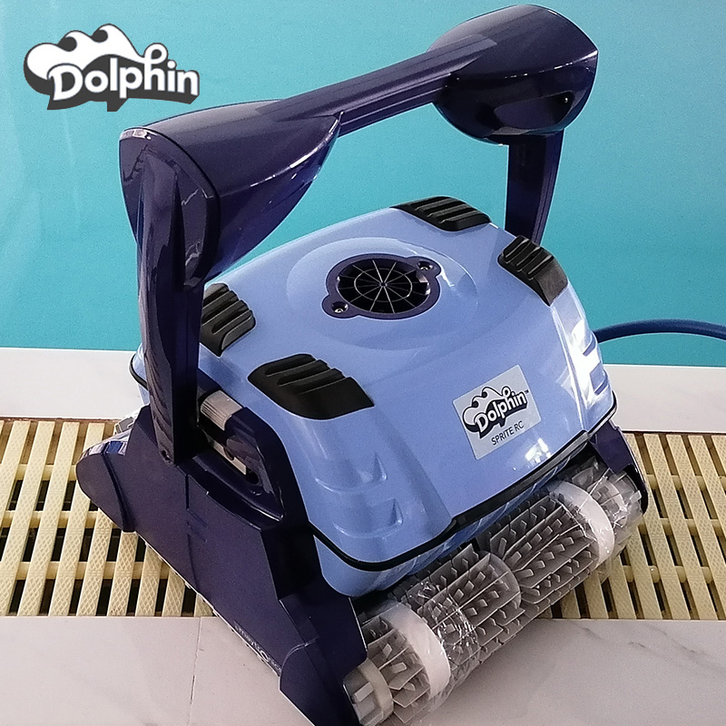 American imported cleaning machine 2002 dolphin suction machine automatic robot pool bottom water turtle pool vacuum cleaner