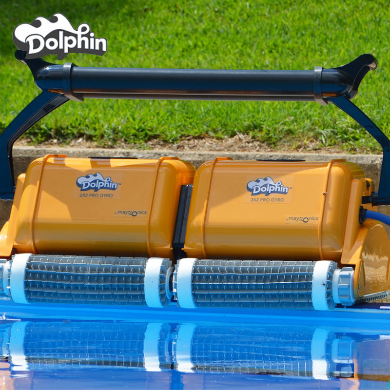 Dolphin 2x2 swimming pool sewage suction machine imported from the United States