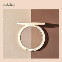Judydoll orange double color dressing powder, nose shadow, solid V face, shadow powder, brighter complexion, white highlights, 01