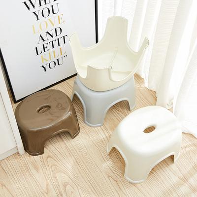 欧式塑料凳子加厚成人换鞋凳儿童矮凳浴室凳方凳小板凳餐桌凳家用