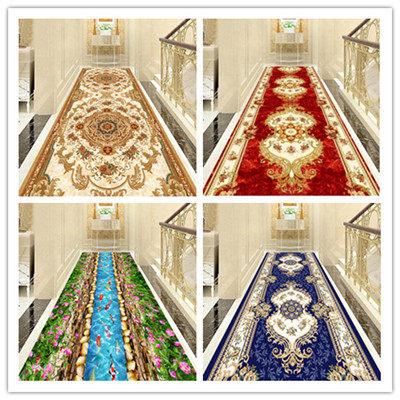 定制可裁剪欧式酒店楼梯卧室宾馆地毯走廊客厅满铺进门厅防滑地垫