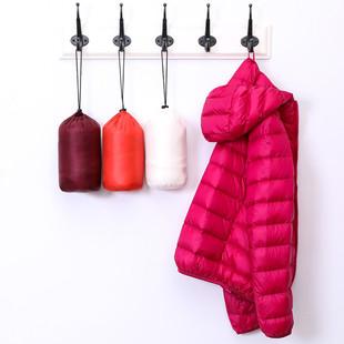 南極人輕薄羽絨服女輕薄薄款立領連帽短款早春輕便外套反季爆款潮