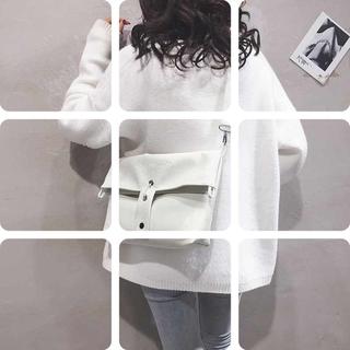休闲大包包女包新款2020纯色大容量学生上课包pu百搭单肩斜挎包潮
