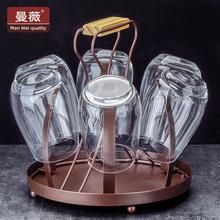 架子 创意杯子架水杯倒挂北欧沥水架玻璃杯置物架家用挂杯放杯子