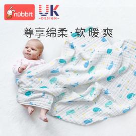 婴儿浴巾新初生宝宝洗澡巾纱布秋冬纯棉柔软速干吸水毛巾儿童盖毯