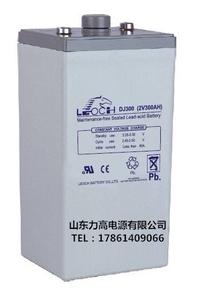 理士蓄电池 DJ300太阳能风力发电电瓶 2V300AH