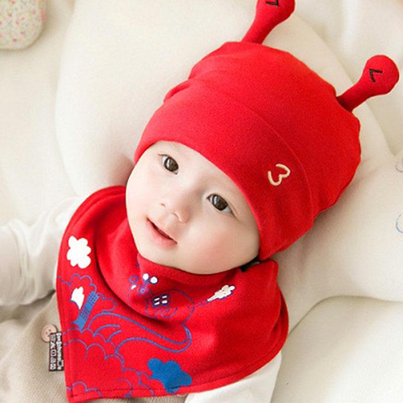 新生婴儿帽子初生小孩纯棉春秋季0-3-6个月8男童女宝宝薄款满月潮