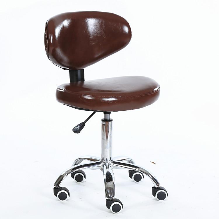 小型电脑椅无扶手家用办公学习书桌椅升降转椅省空间滑轮凳子小巧