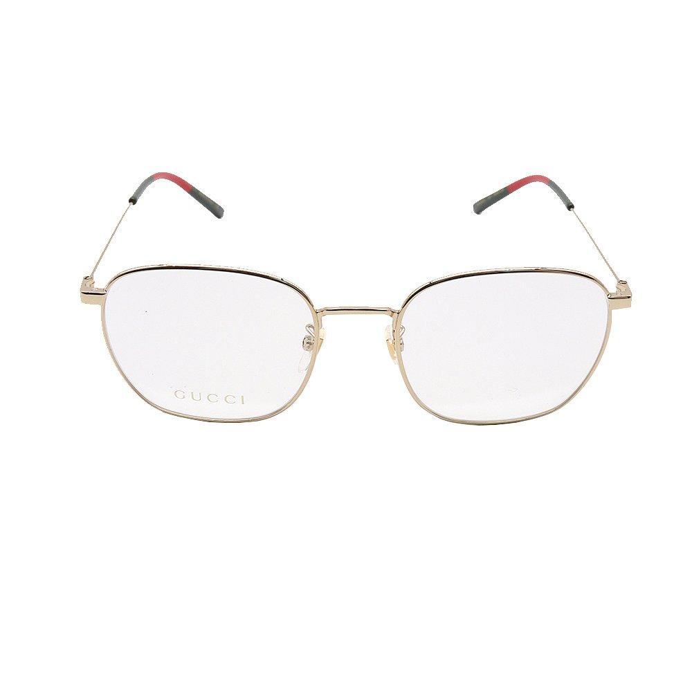 香港直邮GUCCI古驰肖战同款金属方形光学镜框复古眼镜架GG0681O图片