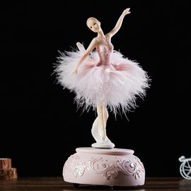 芭蕾旋转音乐盒跳舞女孩八音盒创意生日礼物送女友闺蜜毕业情人节