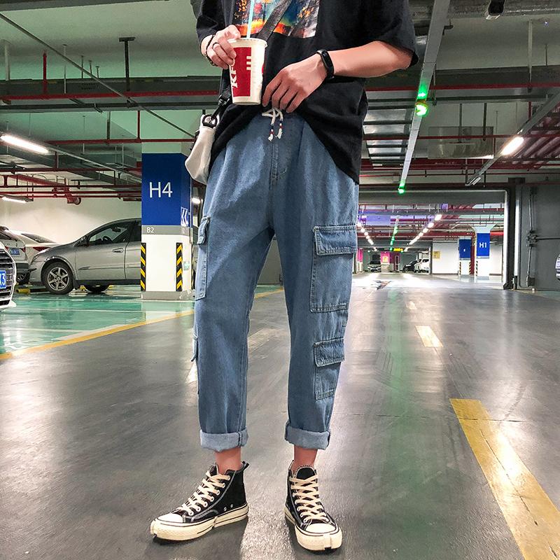 韩版潮流女牛仔裤首页