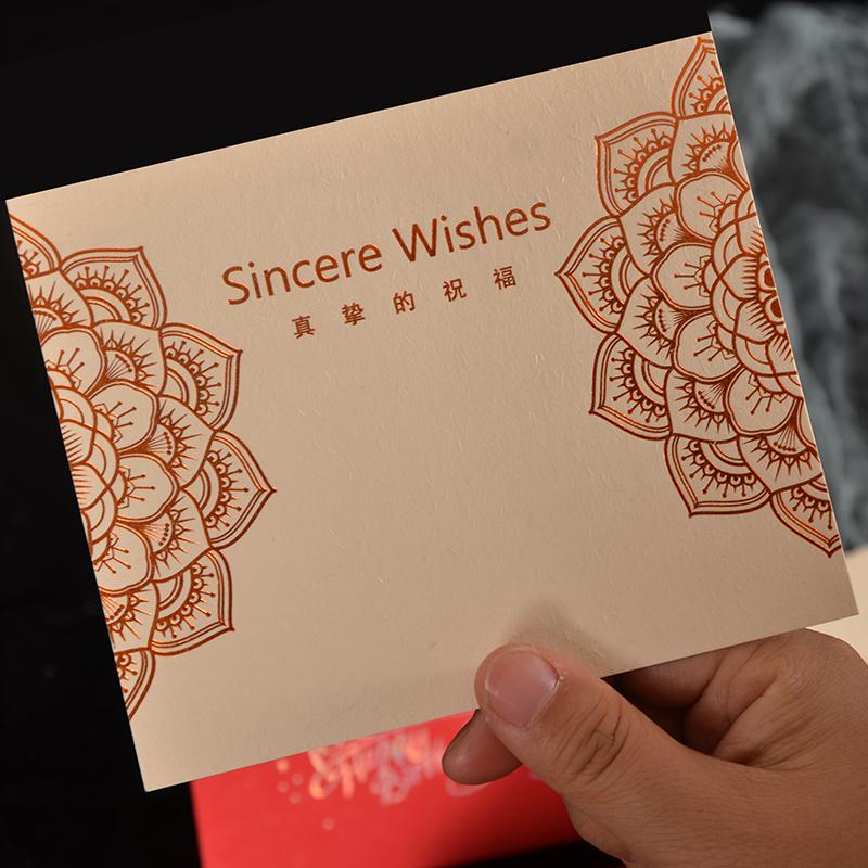 生日礼物贺卡生日快乐卡片新婚快乐贺卡礼卡小卡片折叠卡片特种纸