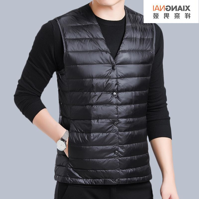 High grade brand new mens vest in spring and autumn of 2020