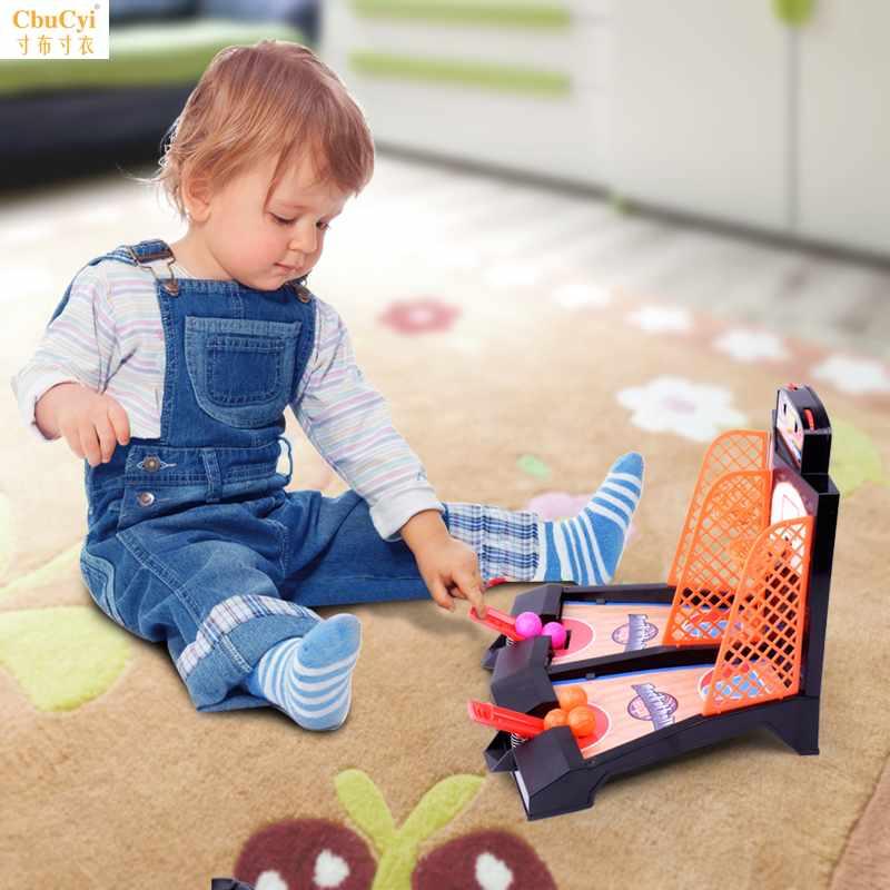 儿童益智大号掌上篮球桌面游戏机 亲子互动手指投篮机减压玩具