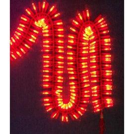 新品2020过年庆典新年春节装饰炮竹彩灯led电子鞭炮串灯带响仿真图片