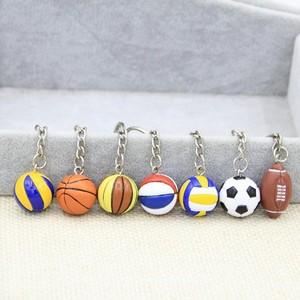 排球挂件小礼物扣小挂件女款礼物运动款挂饰足球运动棒球球形男生