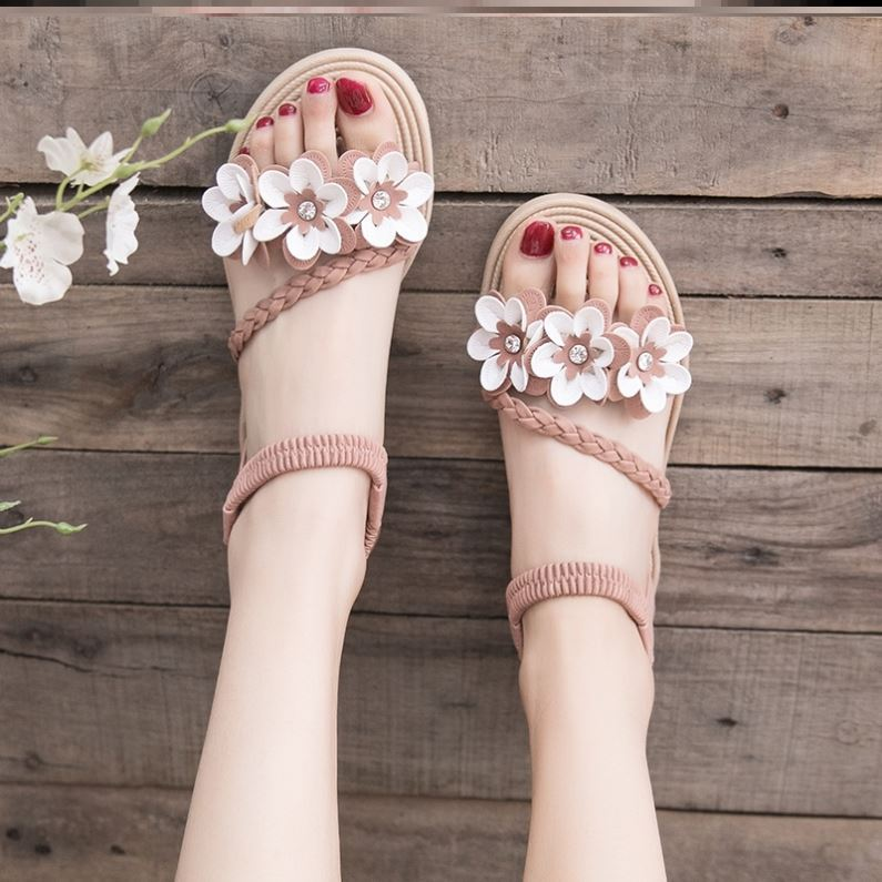 Summer, summer, European and American dormitory sandals, womens fashion shoes, womens tourism, shopping, womens shoes, 35 yards, all kinds of womens shoes