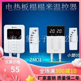 韩国电暖炕板双控温控器家用电热膜板榻榻米汗蒸调节静音时控开关