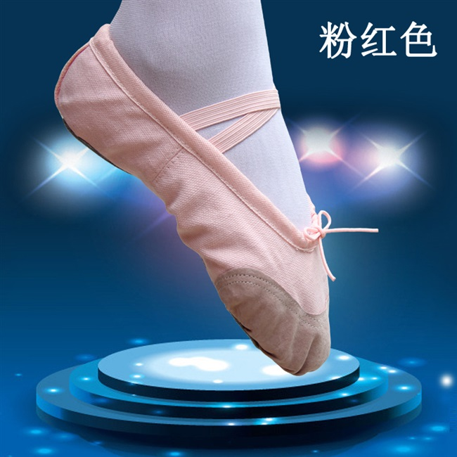 Dance shoes womens soft soled canvas exercise shoes adult ballet flat bottomed dance shoes mens and childrens body yoga shoes cat claw shoes