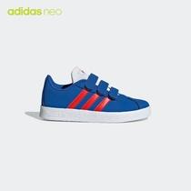 阿迪达斯官网adidasneoVLCOURT2.0CMFC小童魔术贴休闲账动鞋