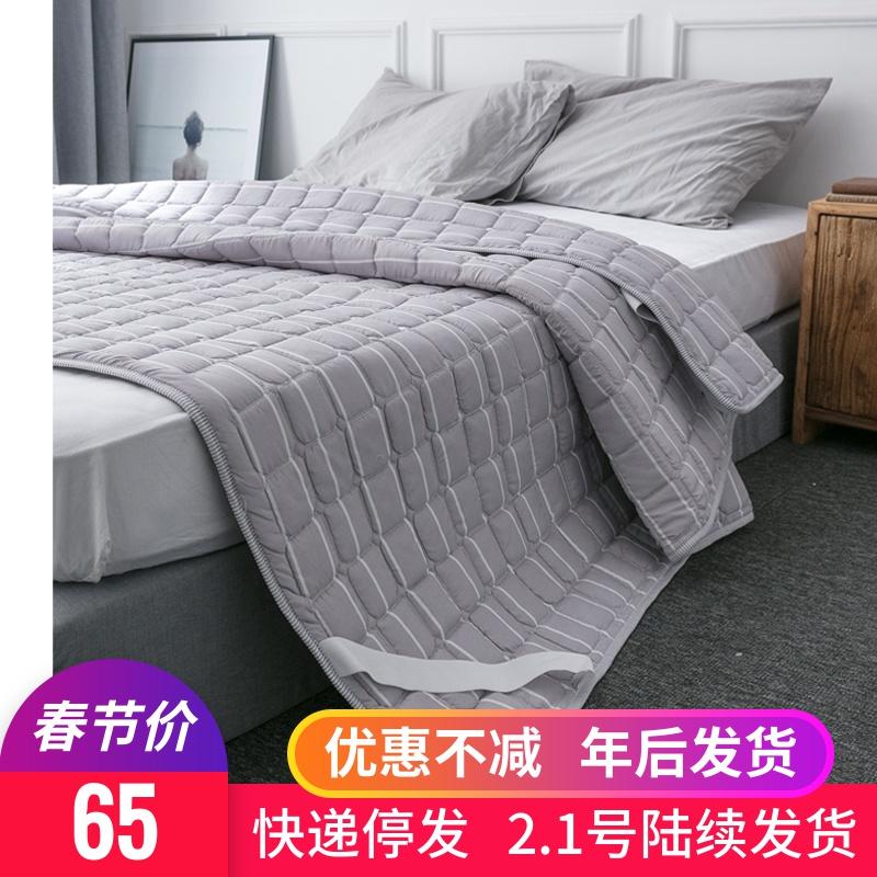可折叠水洗1.5/1.8m薄床垫软垫保护垫防滑单人褥子双人家用薄款