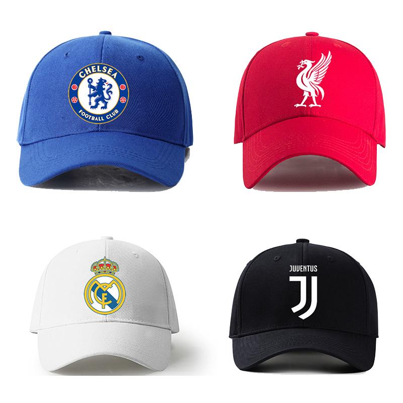 英超阿森纳切尔西欧冠皇马尤文曼联利物浦巴萨足球棒球帽遮阳帽子