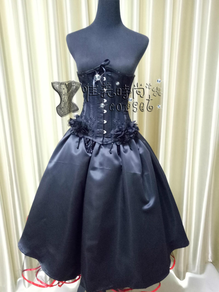 Beautiful and fashionable new summer CORSET gothic palace waistcoat corset steel body shaping suit abdominal corset