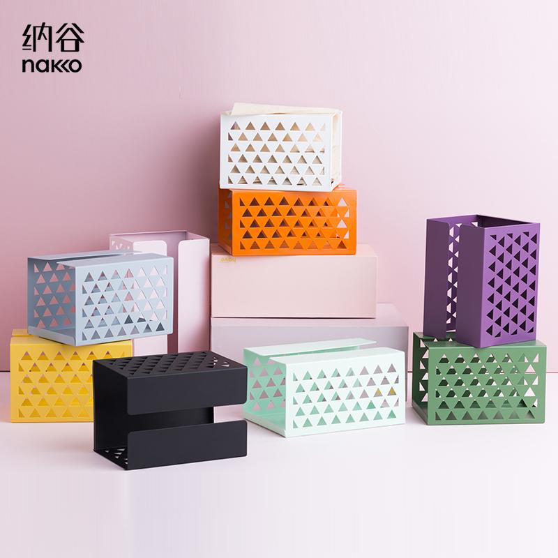 纳谷多功能客厅家用欧式餐巾纸巾盒11月04日最新优惠