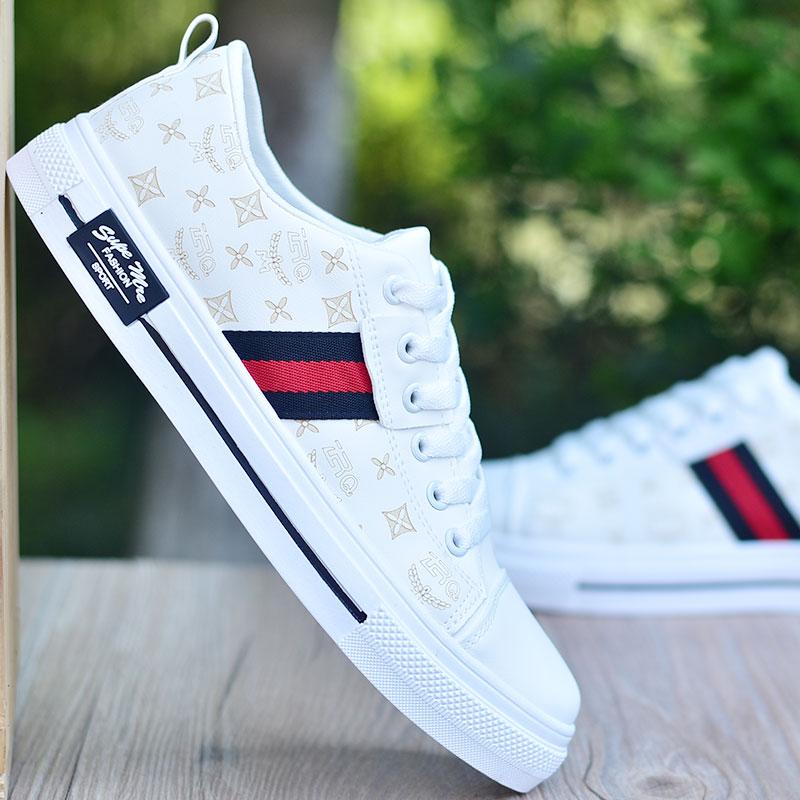 男鞋春季2021新款男士白鞋板鞋韩版潮流百搭休闲夏季小白鞋子潮鞋