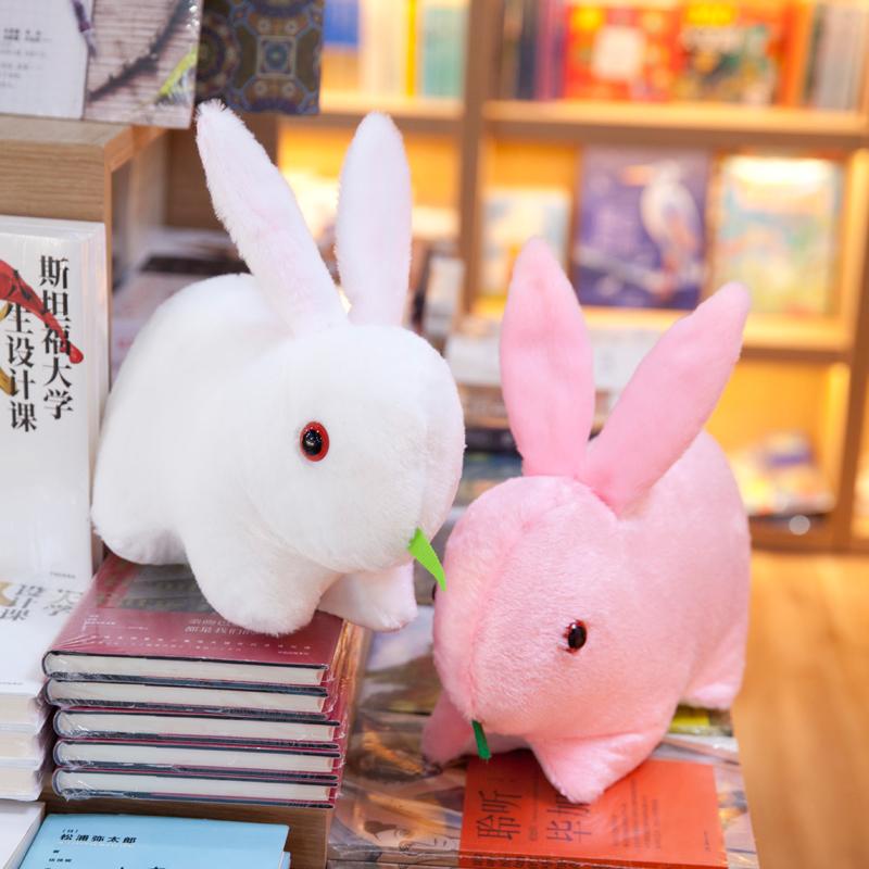 毛绒玩具可爱趴趴兔子公仔玉兔情侣兔兔大号儿童节礼物女生布娃娃