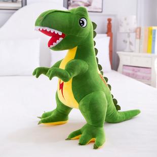恐龍毛絨玩具仿真霸王龍公仔大號玩偶可愛抱枕布娃娃寶寶禮物男孩