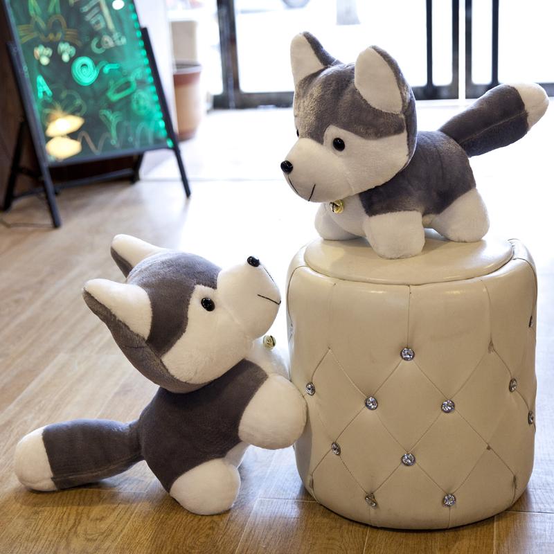哈士奇公仔毛绒玩具小狗可爱抱枕布娃娃二哈玩偶儿童生日礼物男女