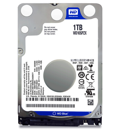 WD / Western data wd10spzx blue disk 1TB 2.5-inch notebook computer mechanical hard disk 1T