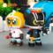 正版黑猫警长玩具儿童手办模型公仔套装礼物车载摆件人偶淘公仔