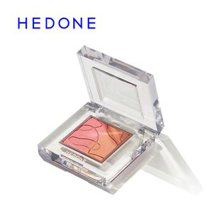 HEDONE腮红内心戏慕斯膏胭脂修容高光一体盘组合多色正品裸妆自然