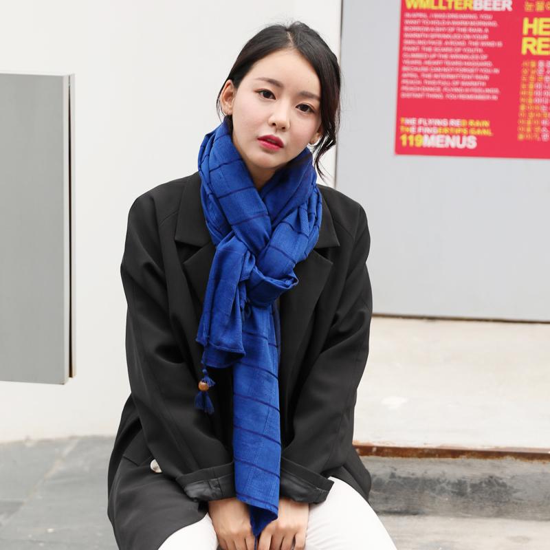 冬季格子保暖风披肩两用围巾女【原价24.8元】券后9.8元包邮