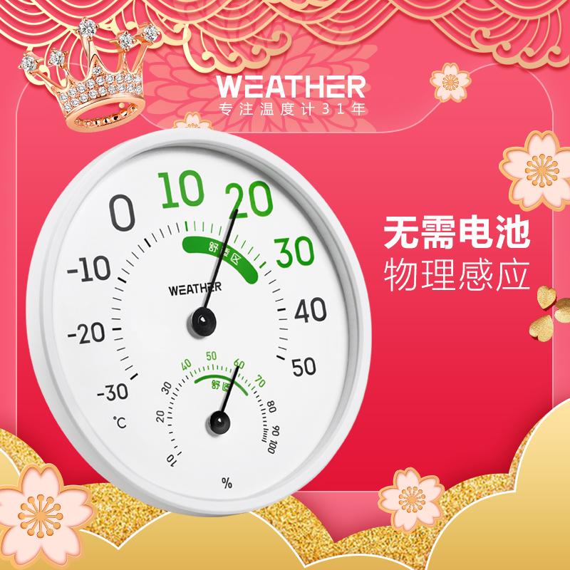 伟仕家用室内温高精度挂式温度计