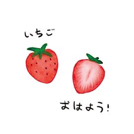 草莓纹身贴防水少女韩国可爱仿真持久性感锁骨脚踝ins风纹身贴纸图片