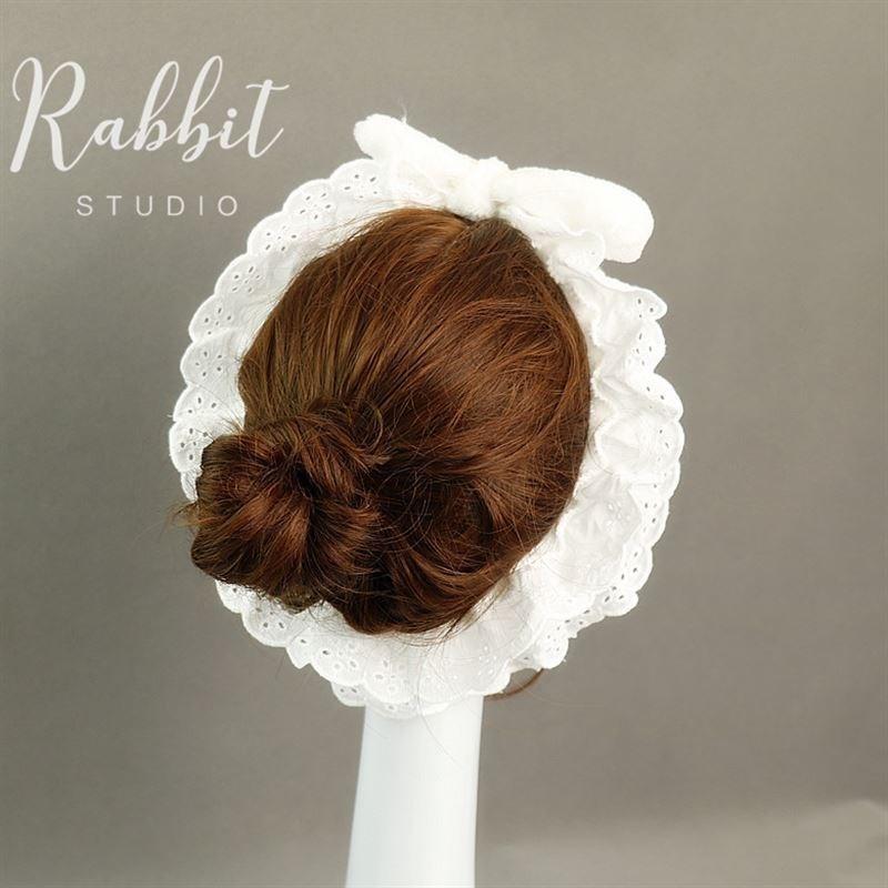 甜美公主荷叶边蕾丝蝴蝶结洗脸发带发箍宽边面膜头巾束发带女头饰