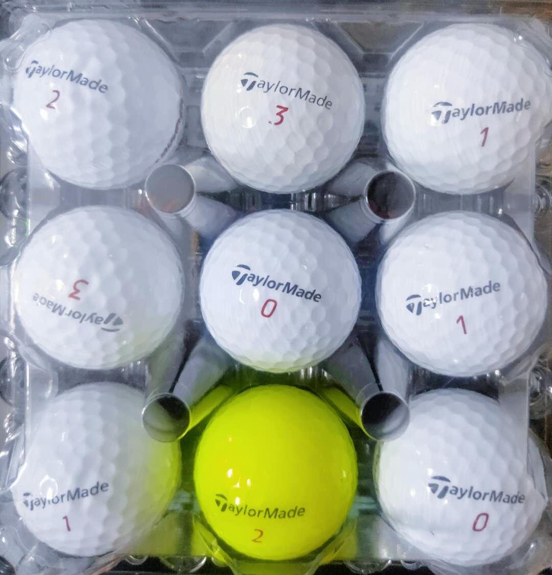50 new brand golf balls (618 special, 2-2.6 yuan each)