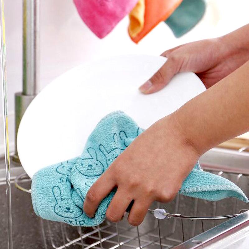 厨房家务清洁家用油利除挂式洗碗布