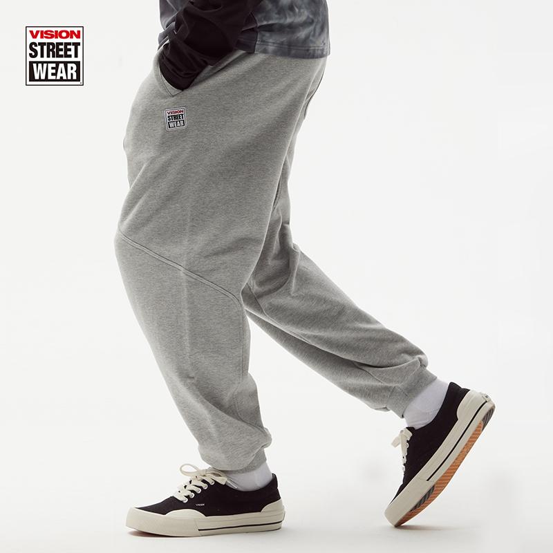 VISION STREET WEAR經典基礎印花運動長褲小腳衛褲2021新款