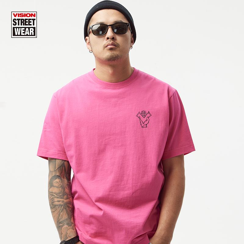 VISION STREET WEAR复刻系列火焰LOGO潮流短袖T恤男女同款21新款