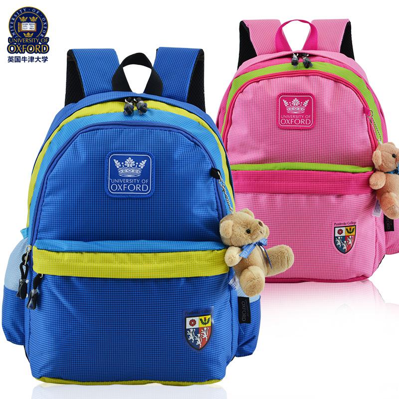 牛津大學小學生書包1~2年級男女生兒童雙肩包 6歲8歲 背包