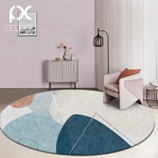 北欧ins圆形地毯轻奢客厅卧室网红同款满铺房间电脑椅梳妆台地垫
