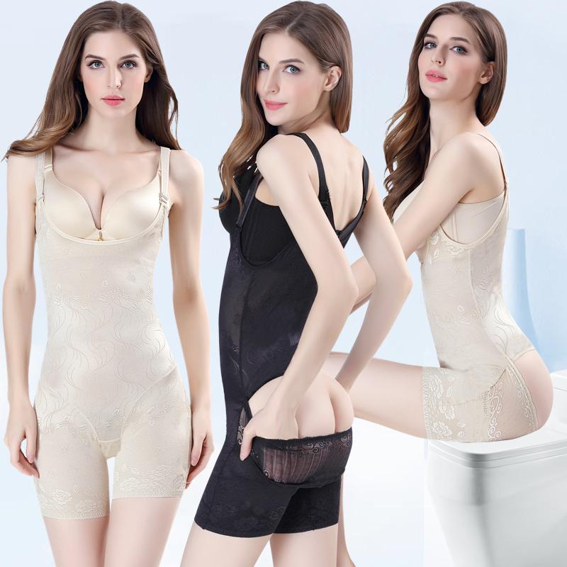 神器连体塑身塑形无痕内衣服产后收腹束腰燃脂美体瘦身夏季超薄女