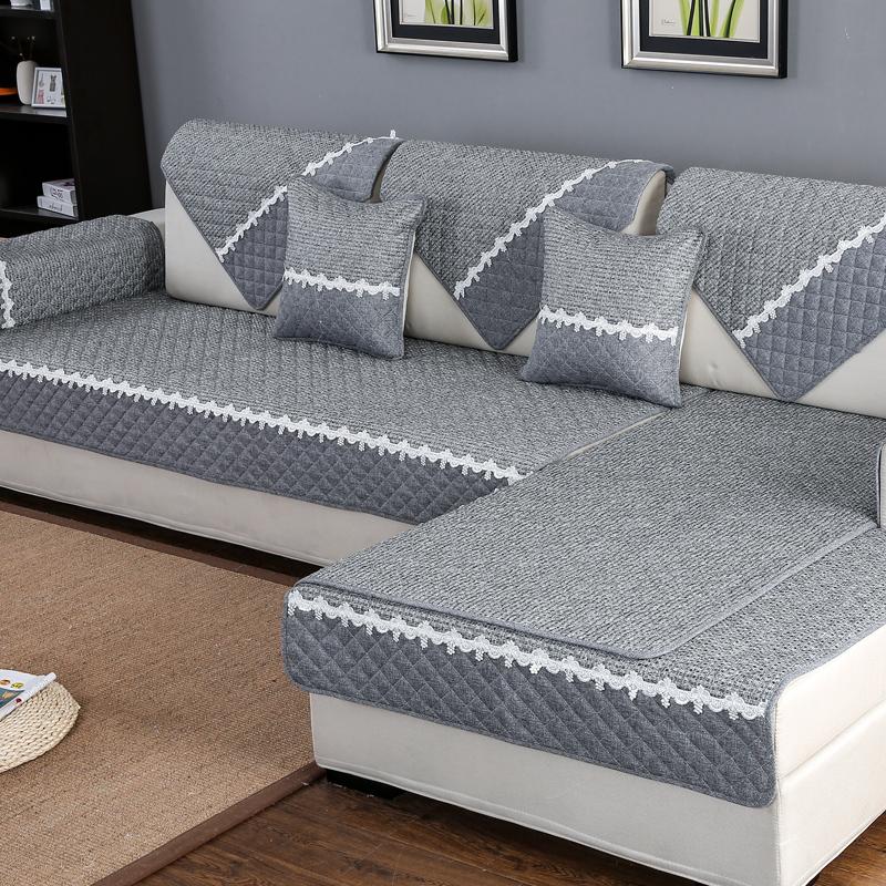 11月12日最新优惠沙发垫四季通用布艺坐垫子靠背巾简约现代沙发套全包萬能套罩全盖